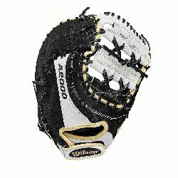 First base model; double horizontal bars web Comfort Velcro wrist closure for a secure an