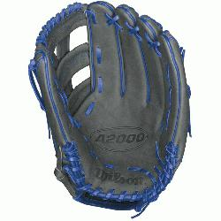 hooses to use a Wilson baseball glove because he