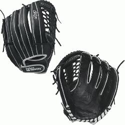- 12.75 Wilson Onyx FP 1275 Outfield Fastpitch Glove Ony