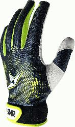 0 Adult Protective Inner Glove (Large, Left Hand) : All-Star CG5