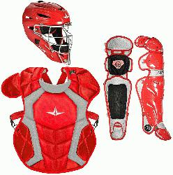 up with the System Seven Pro baseball catchers package fr
