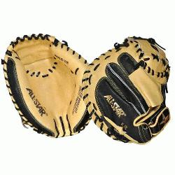 AllStar Pro Elite Catchers Mitt (Cataloged at 35 looks like 34 ). T