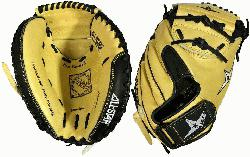 AllStar CM3200SBT 33.5 Catchers Mitt BlackTan (Right Handed T
