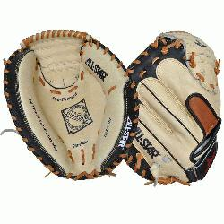lStar CM3200SBT 33.5 Catchers Mitt BlackTan (Right