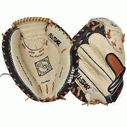 M3200SBT 33.5 Catchers Mitt BlackTan (Right Handed Throw) : Allstar catchers mitt. The Al