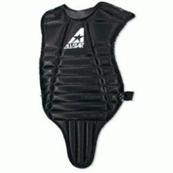 th Baseball Chest Protector. Contoured neck collar. Fully adjustable y-back harness. F