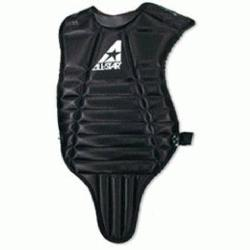 ball Chest Protector. Contoured neck collar. Fully adjustable y-back harne