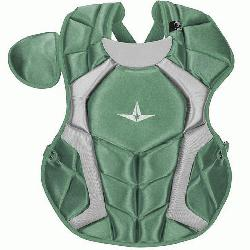 The S7™ Chest Protector is the only protector that has wedge shaped abs, wh