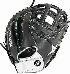 lite Series catcher's mitt is designed for advanced fastpitch catchers p