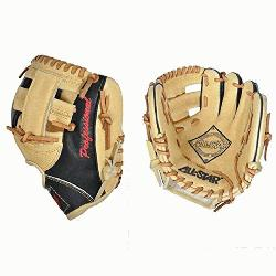 e Pick 9.5 inch fielding training mitt is