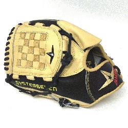 e Pick 9.5 inch fielding training mitt is modeled after the CM100TM