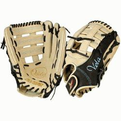 a 3 Finger FGSBV-12.5 Fastpitch Softball Glove 12.5 Inch (Right H