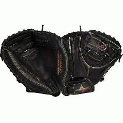 r Catchers Mitt CM3000SBK Pro 33.5 inch (Right Handed Throw) : Allstar black CM30