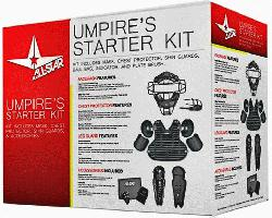 UMP Umpires Starter Kit Black. The