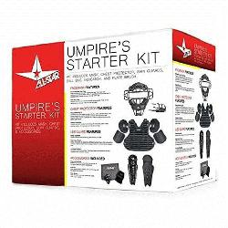 Umpires Starter Kit Black. The All-Star CK-UMP Umpires Start