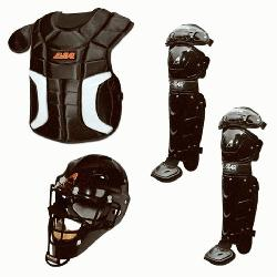r-up with the youth Player Series baseball catchers package from All-Star