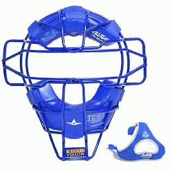 ghtweight Ultra Cool Tradional Mask Delta Flex Harness Black (Royal) : All Star Catchers Mas