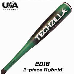 2018 Techzilla S-Series Hybrid lets your young hitter experience maximum s