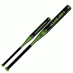 erson Ambush Slow pitch Bat Features One-Piece