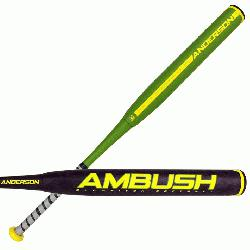 2017 strongAmbush Slow Pitch/strong two piece composite bat is made to give hitters just the rig