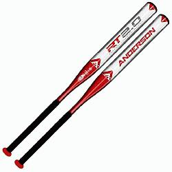 rson Rocketech 2.0 Slowpitch Softball Bat U