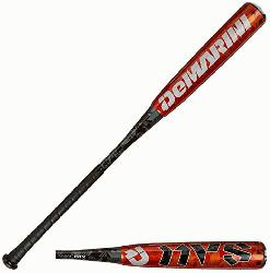 BBCOR Baseball Bat -3 (33-inch-30-oz) : The Demarini NVS
