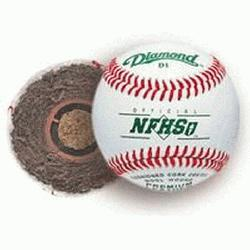 Diamond (10 Dozen) D1-NFHS Offical Baseballs 1d