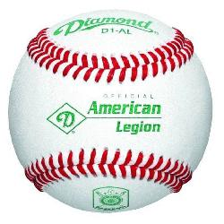 cial Ball of the American Legion World Series Premium leather cover with cushioned cork center. D