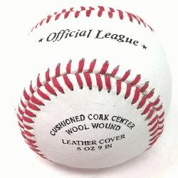 ond baseballs are the highest quality and most popular brand