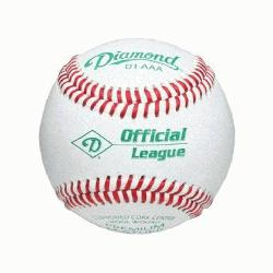 Semi-Pro Adult Baseball D1-AAA Official League - Professional College Game Balls. Cushio
