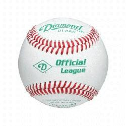dult Baseball D1-AAA Official League - Professional College Game Balls. Cush