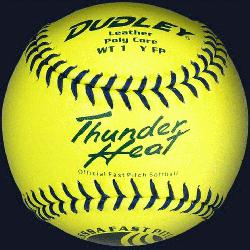 e USSSA Thunder Heat softball is not nearly as susceptible to compressi