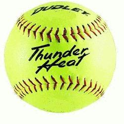 12 NFHS Fastpitch Softballs Composite Cover Core .47 Compression