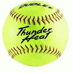 Heat 12 NFHS Fastpitch Softballs Composite Cover Core .47 Compres