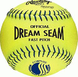 2 Inch Fastpitch USSSA Softballs (1 dozen) : Leather cover is hig