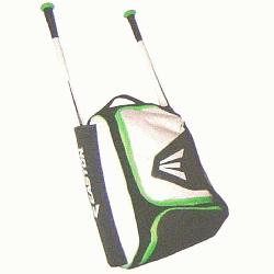 ack E200P Bag 20 x 13 x 9 (White-Neon Green) : Fro