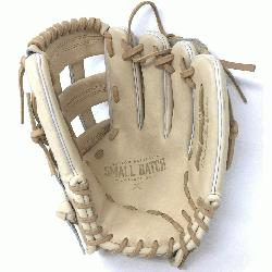 Eastons Small Batch project focuses on ball glove development using only premium leathers,