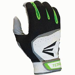 Easton Torq HS7 Adult Batting Gloves 1 Pair (TealGreen, Large) : You want