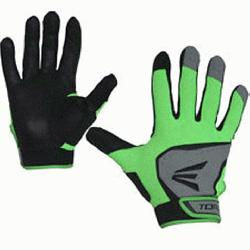 Adult Batting Gloves 1 Pair (TealGreen, Large) : You want batting gloves that give you the confi