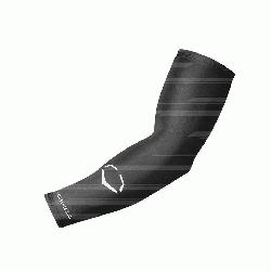 Stripe Compression Arm Sleeve• Improves circulation for better muscle recovery• Ultra-