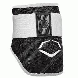 batters Elbow guard features a redesigned covering offering a durable surface with