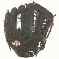 lugger 11.5 Omaha Crossover Series Black Modified Trap Web Baseball Glove.