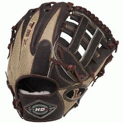 ille Slugger 11.75 HD9 Hybrid Defense Kastanie/Gold Baseball Glove for the right
