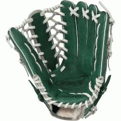e Slugger 12.75-Inch TPX HD9 Hybrid Defense Ball Glove (GreenGray) (Right