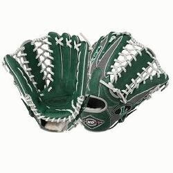 ugger 12.75-Inch TPX HD9 Hybrid Defense Ball Glove (GreenGray) (Right Hand Throw)