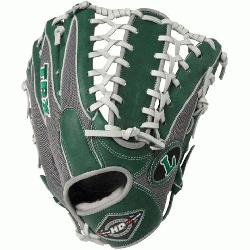 ugger 12.75-Inch TPX HD9 Hybrid Defense Ball Glove (GreenGray) (Right Hand Throw) : The