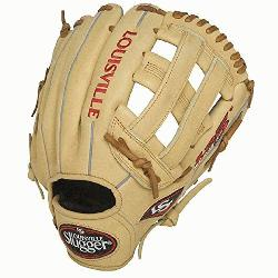 Slugger 125 Series Cream 11.75 inch Baseball Glove (Right Handed Throw) : Built for superior fe