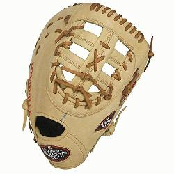 ger 125 Series Cream First Base Mitt 13 inch (Right Handed Throw) : Louisville Slugger 125 Serie