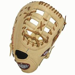 ugger 125 Series Cream First Base Mitt 13 inch (Right Handed Throw) : Louisville Slugger 125 Ser