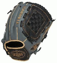 uisville Slugger 125 Series Gray 12 inch Baseball Glove (Right Handed Throw) : Built